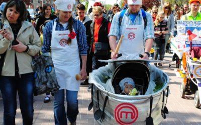Парад дитячих візочків в Біляївці відбудеться під час фестивалю Дністровська вертута